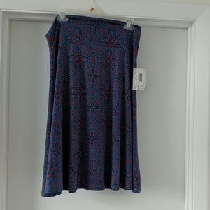 NWT Lularoe Azure skirt L